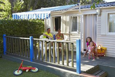 Camping family in Platja d'Aro