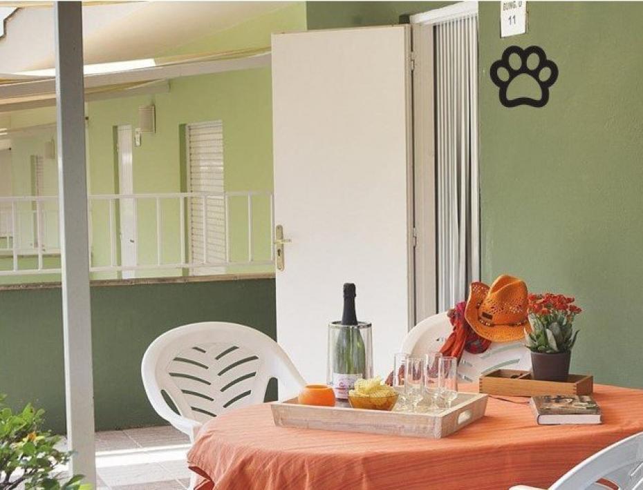 Thalassa Bungalow green