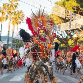Carnival of Playa de Aro on the Costa Brava