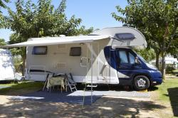 Camping pitch for motorhome in Spain