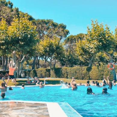 Aquagym in the Valldaro pool
