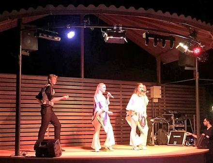 Concerts at the Camping Valldaro in Spain