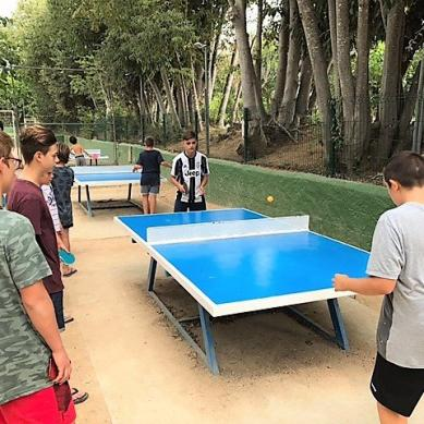 Ping Pong outside