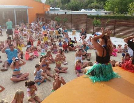 Hawaiiaans feest voor kinderen