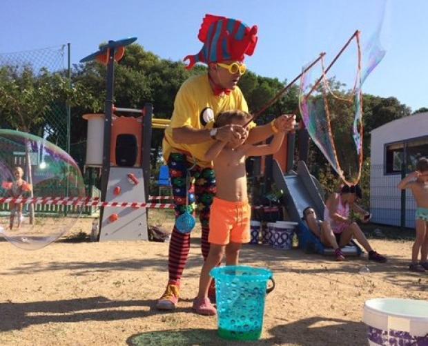 Workshops voor kinderen: gigantische bubbel