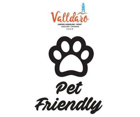 Logo pet friendly camping