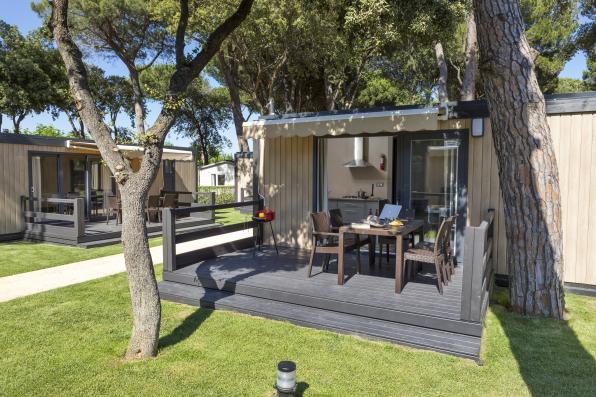 Bungalow S'Agarò Camping Valldaro Spanje