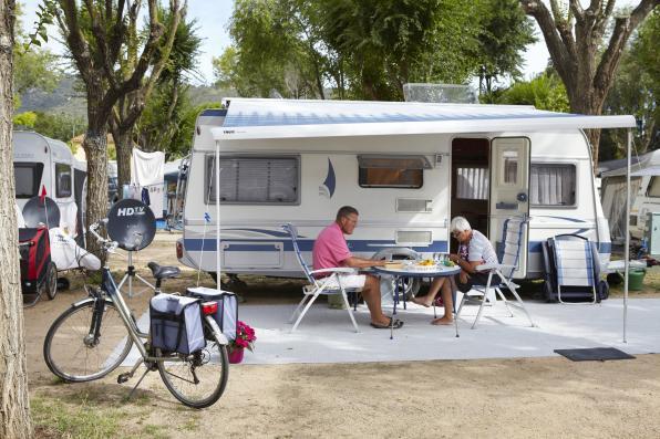 Perceel voor camper in Playa de Aro