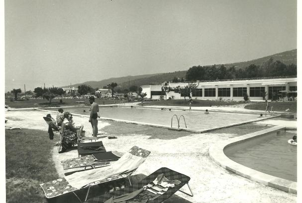Pool from the 60s in Playa de Aro