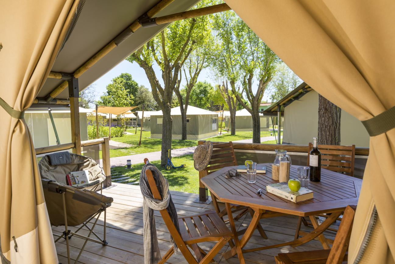Tent with terrace - Glamping Playa de Aro