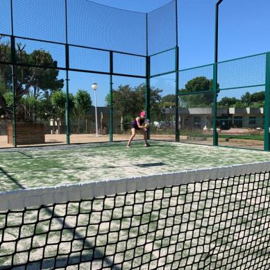 Paddle-tennisbaan in Playa de Aro