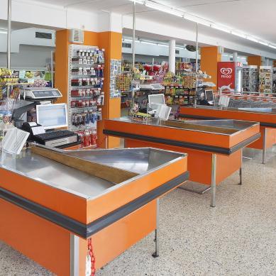 Cajas del supermercado