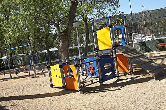 Parc infantil del Camping Valldaro