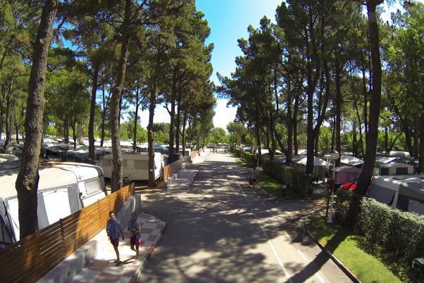 Camping para largas estancias en Playa de Aro