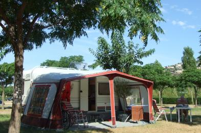 Camping plot in Playa de Aro (Catalonia)