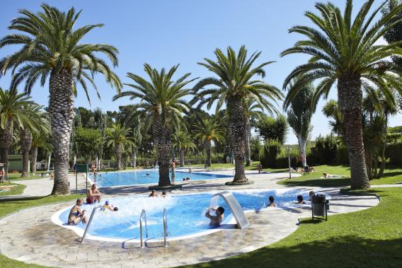 Camping with hydromassage pool in Playa de Aro