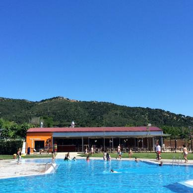 Camping and Bungalows Valldaro restaurant