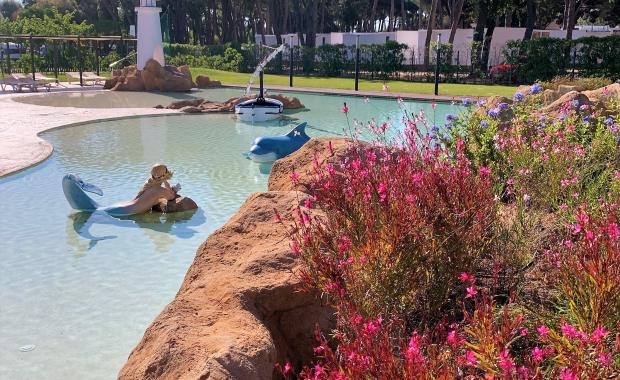 Ingericht campingzwembad