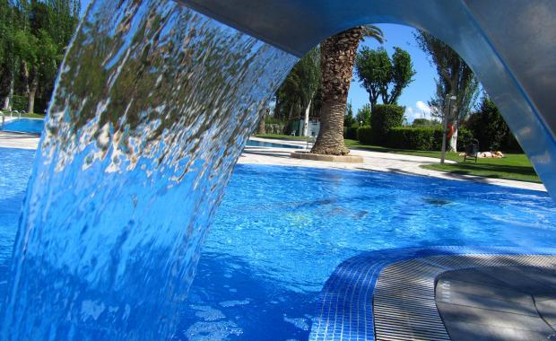 Hydromassagezwembad op Camping Valldaro