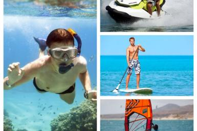 Esports aquàtics a Platja d'Aro
