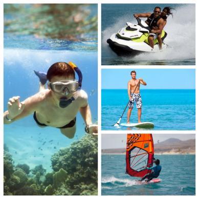 Deportes acuáticos divertidos