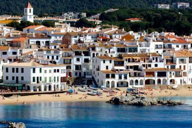 Maisons méditerranéennes sur la Costa Brava - Calella