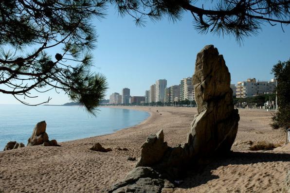 Grande plage de Playa de Aro