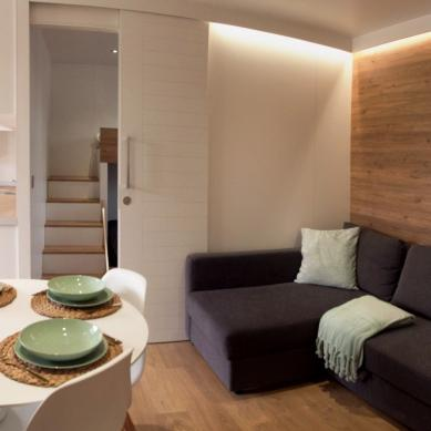 Living room - First class bungalows in Playa de Aro