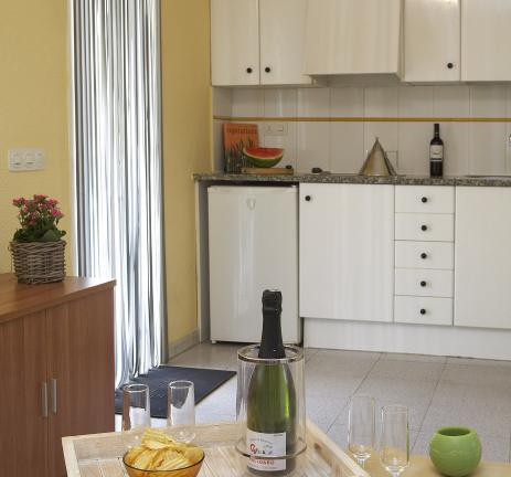 Kitchen Bungalow Thalassa - Camping Valldaro