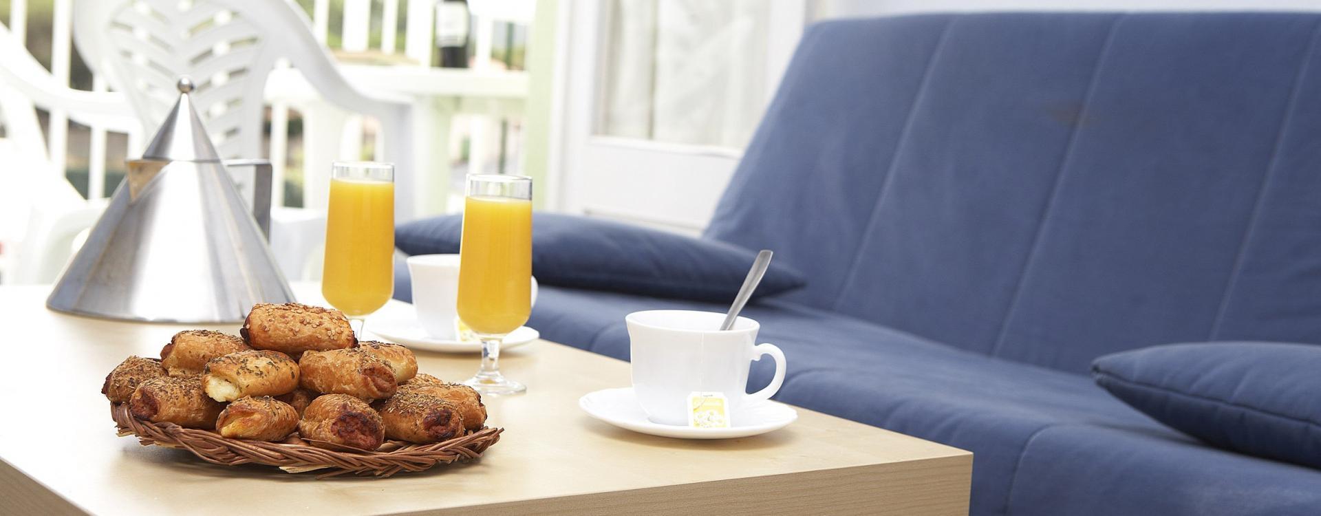 Appartement avec petit-déjeuner inclus