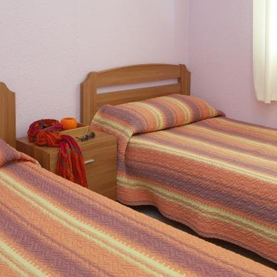 Beds in the Valldaro apartments