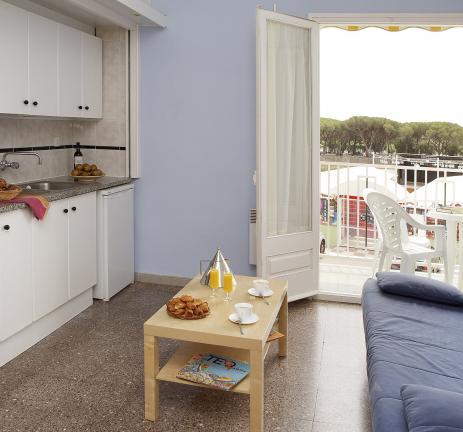 Estudi cuina amb balcó