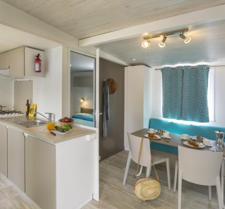 Intérieur Mobil Home Empordà - Camping Valldaro