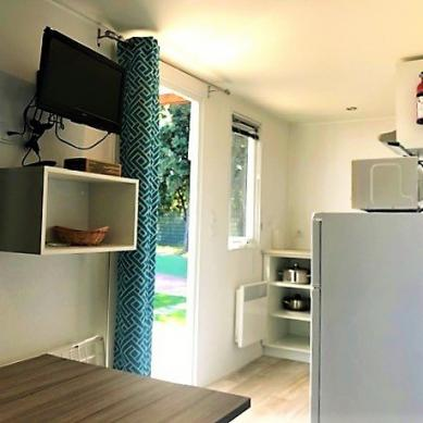 Interior mobile home Empordanet - Camping & Bungalows Valldaro