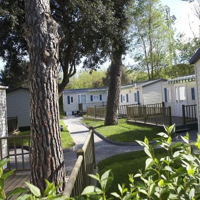 Cocina mobil homes - Camping Valldaro