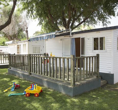 Extérieur Mobil Home Sa Conca Camping Valldaro