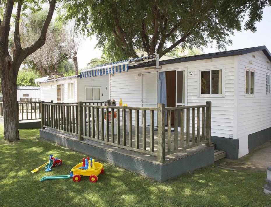 Exterior Mobil Home Sa Conca Camping Valldaro