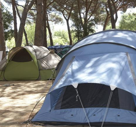 Plot Pocket with tents