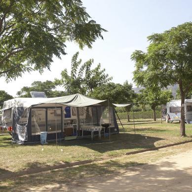 Parcelas para caravanas en la Costa Brava