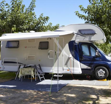 Camping Valldaro: Camping pitch in Playa de Aro