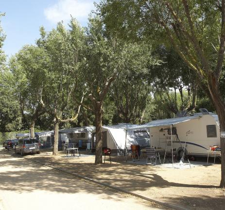 Plots in Camping Valldaro Spain