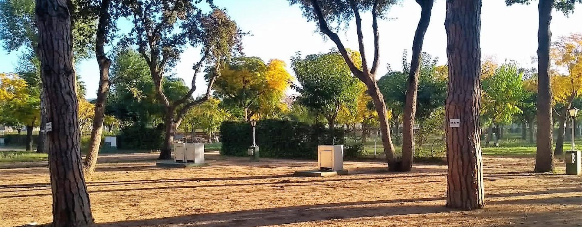Camping Valldaro nueva zona con agua