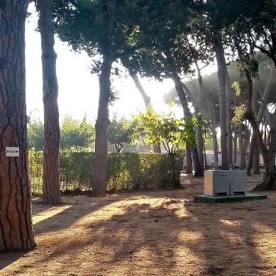 Parcela premium en Camping & Bungalows Valldaro