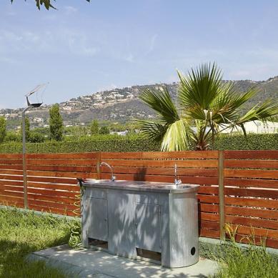 Zona de agua en el Camping & Bungalows Valldaro