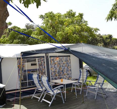 Camping Valldaro pitch