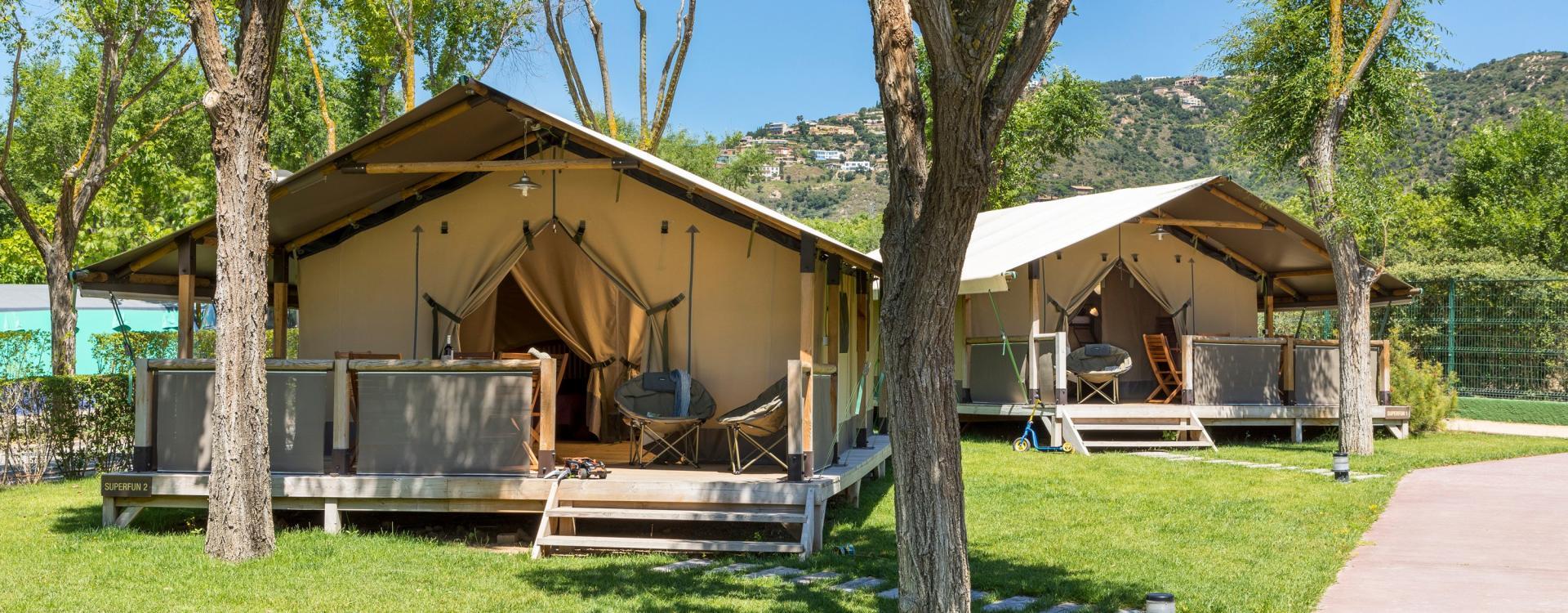 Glamping en Cataluña - Camping Valldaro