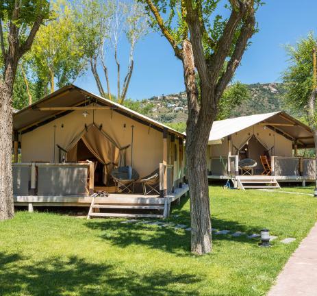 Glamping in Catalonia - Camping Valldaro