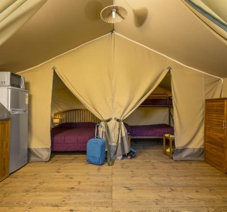 Luxury tents in Playa de Aro