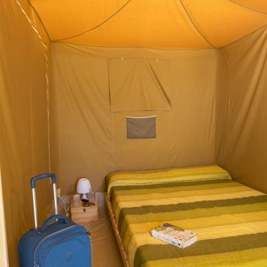 Tiendas de campaña con habitaciones en Playa de Aro