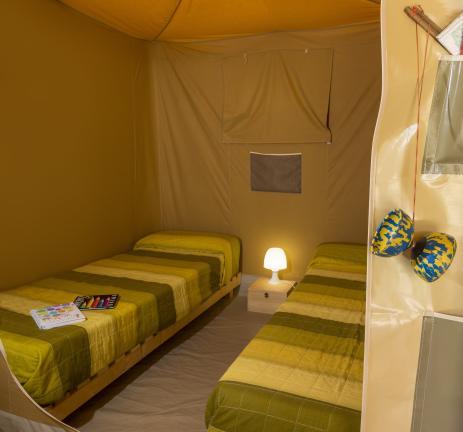 Glamping Valldaro room